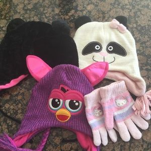 Other - Girl's Winter Hats & Gloves